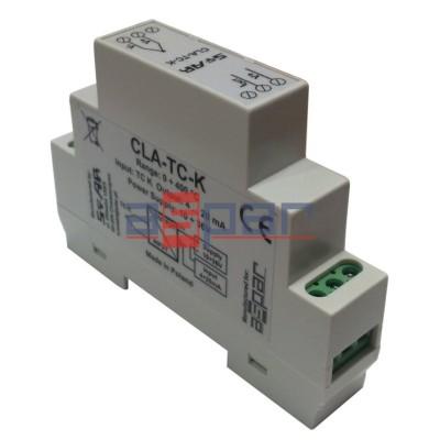 CLA-TC-K, wejście termopara K, wyjście 4...20mA