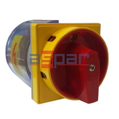 4G25-10-U S25 - rozłącznik 3-fazowy 0 - 1