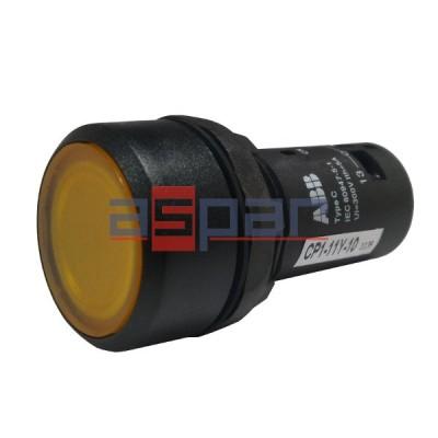 Przycisk podświetlany CP1-11Y-10, 24V AC/DC