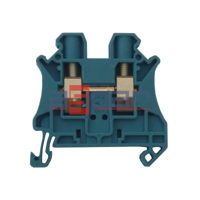 UT 6 BU - złączka 2-przewodowa śrubowa