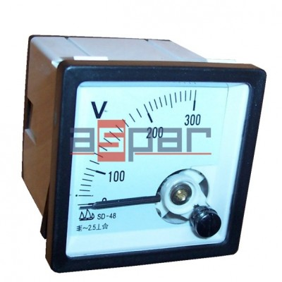 Woltomierz AC~300V, APM-S48-AV300