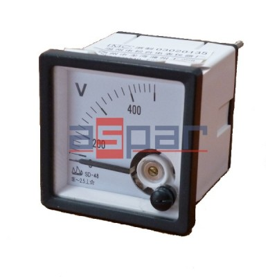 Woltomierz AC~500V, APM-S48-AV500