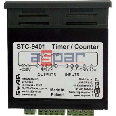 STC-9401 - Timer-Licznik-Tachometr