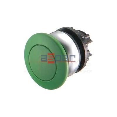 Przycisk grzybkowy z samopowrotem, zielony, M22-DP-G, 216716