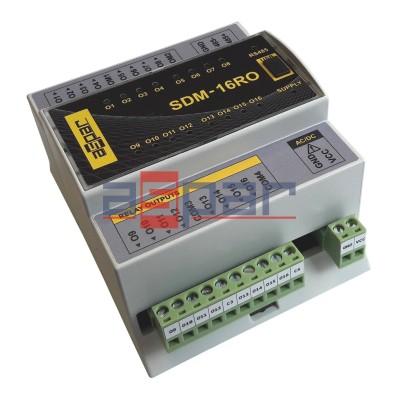 16 wyj. przekaźnikowych, SDM-16RO