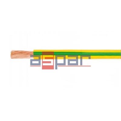 LgY, H05V-K 1x1 żółto-zielony