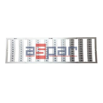 Oznaczniki WMB z nadrukiem 2 x 101...150 - 793-5608
