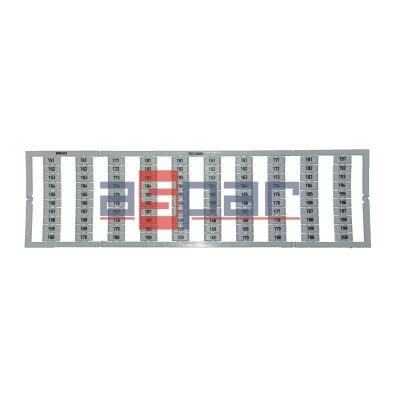 Oznaczniki WMB z nadrukiem 2 x 151...200 - 793-5609