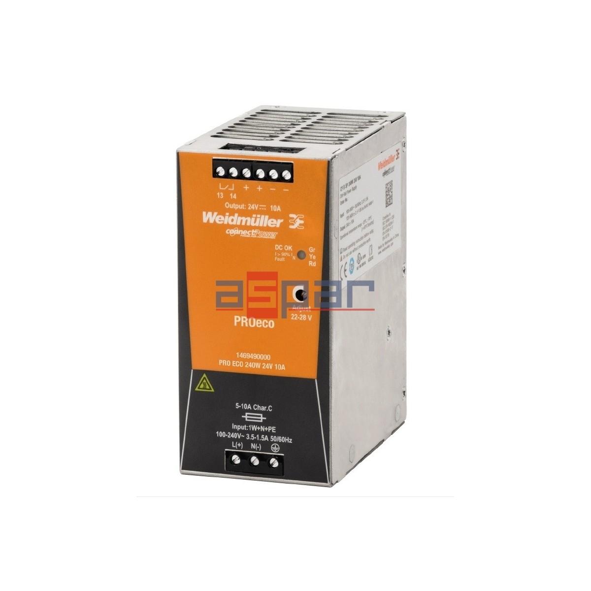 PROeco 240W 24VDC 10A