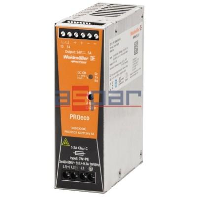 3-fazowy PROeco3 120W 24VDC 5A