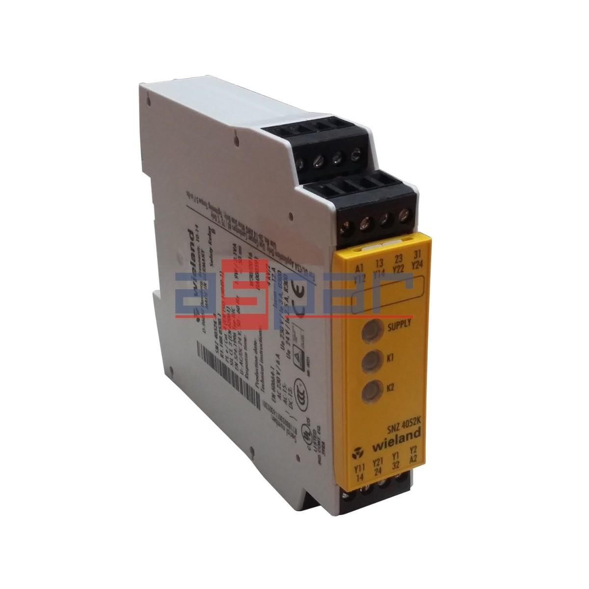 SNZ4052K-A - przekaźnik sterowania dwuręcznego 24V AC/DC