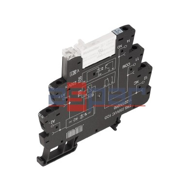Przekaźnik, 1CO, 6A, 230VAC/DC, TRS 230VUC 1CO