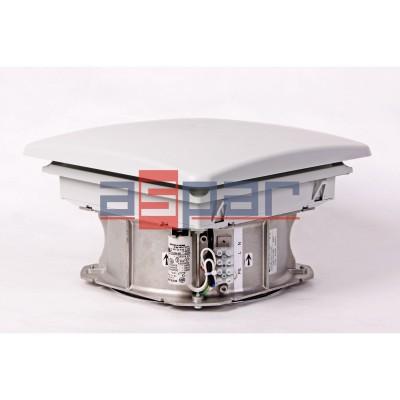 Wentylator dachowy DVL 550 - 287 x 287 mm
