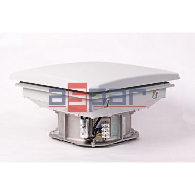 Wentylator dachowy DVL 600 - 361 x 361 mm