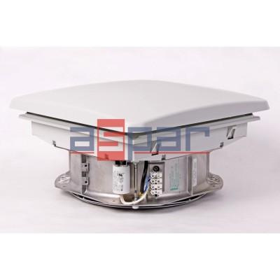 Wentylator dachowy DVL 800 - 361 x 361 mm