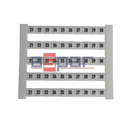Oznacznik poziomy DEK 5 FWZ 21-30, 0523060021