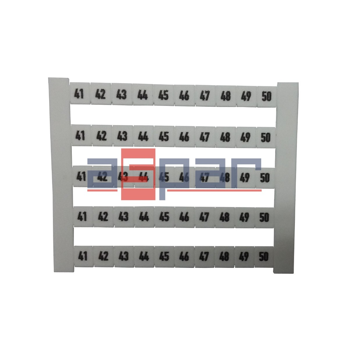 Oznacznik poziomy DEK 5 FWZ 41-50, 0523060041