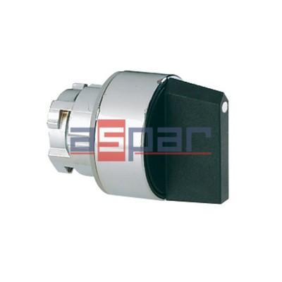 Przełącznik 1-0-2, metalowy, 8LM2TS130