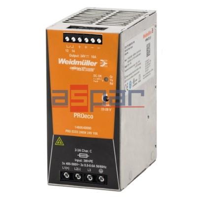 3-fazowy PROeco3 240W 24VDC 10A