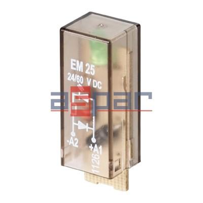 Moduł LED, RIM-I 2 6/24VDC GN