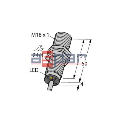 BI8-M18-AN6X 7M, 4615131
