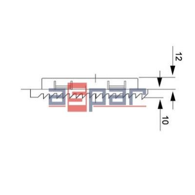 FKL 6621.300, kratka z matą 116 x 116 mm