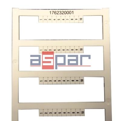 Oznacznik DEK 5/3,5 MC FSZ 1-10,  1762320001