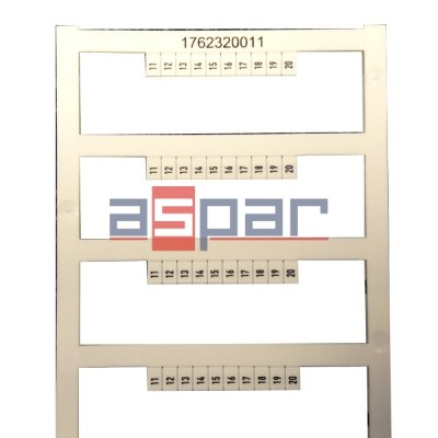 Oznacznik DEK 5/3,5 MC FSZ 11-20,  1762320011