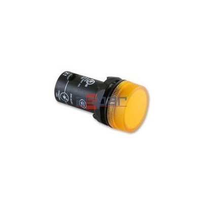 CL2-523Y, lampka sygnalizacyjna, żółta, 230VAC, 1SFA619403R5233