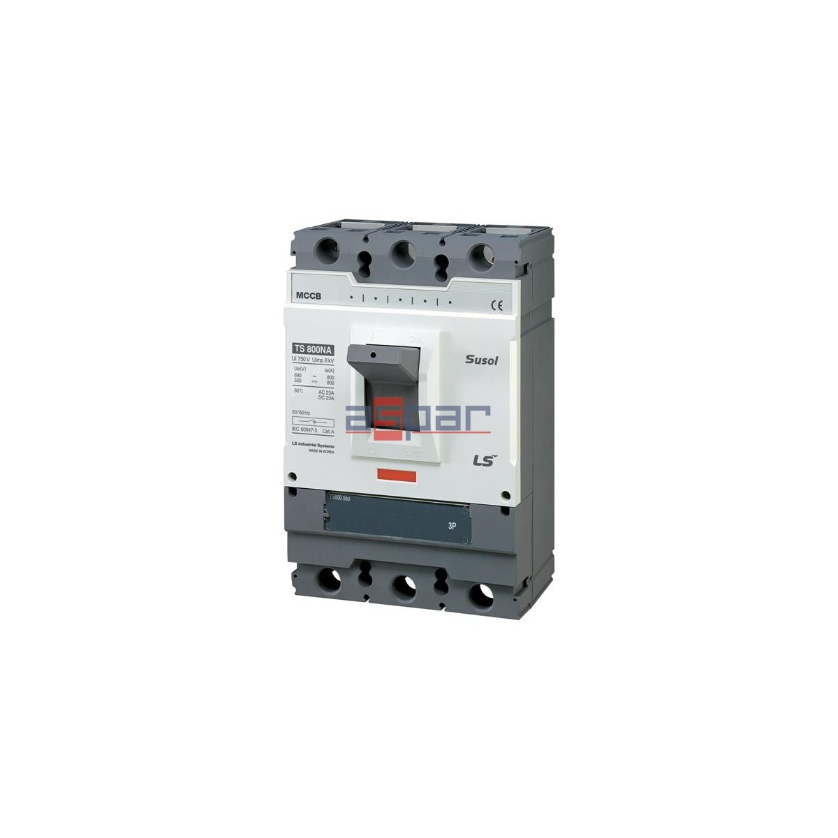 Rozłącznik TS800N DSU 800A 3P