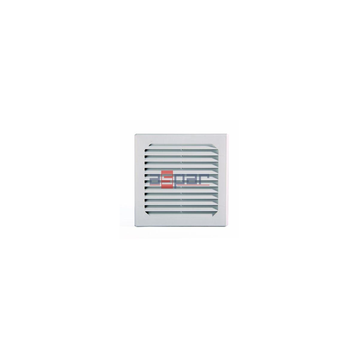 Kratka wentylacyjna z matą filtracyjna 148 x 148 mm, GV250