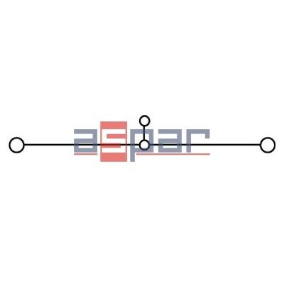 Złączka śrubowa WDU 6 BL