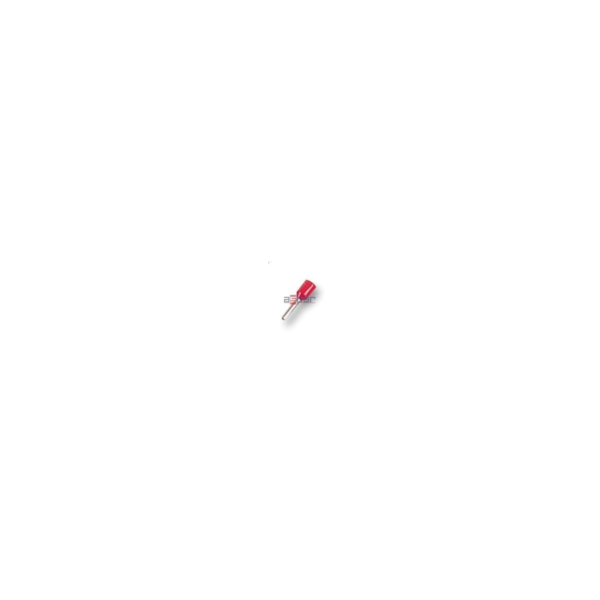 Końcówka tulejkowa, HI 0,5/8
