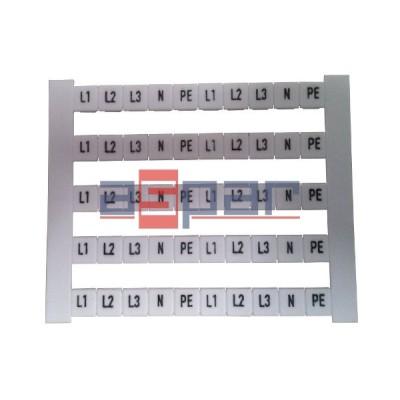 Oznacznik poziomy DEK 5 FWZ L1-PE, 0354361187