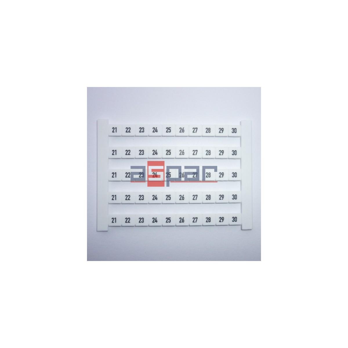 Oznacznik poziomy DEK 6 FWZ 21-30, 0518960021