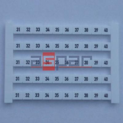 Oznacznik poziomy DEK 6 FWZ 31-40, 0518960031