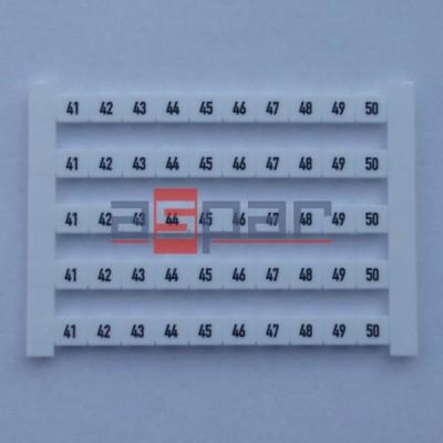Oznacznik poziomy DEK 6 FWZ 41-50, 0518960041
