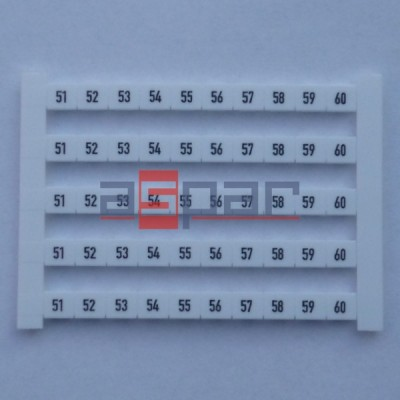 Oznacznik poziomy DEK 6 FWZ 51-60, 0518960051
