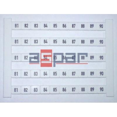 Oznacznik poziomy DEK 6 FWZ 81-90, 0518960081