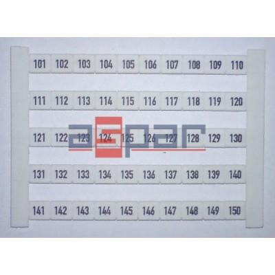 Oznacznik poziomy DEK 6 FW 101-150, 0468660101