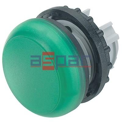 M22-L-G, 216773, główka lampki sygnalizacyjnej, płaska, zielona