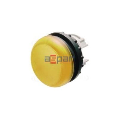 M22-L-Y, 216774, główka lampki sygnalizacyjnej płaska, żółta