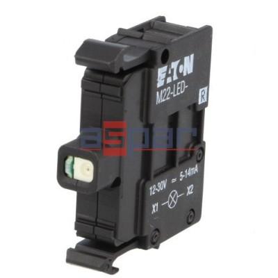 M22-LED-R, 216558, dioda LED, czerwona