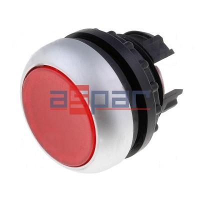M22-DL-R, 216925, przycisk z samopowrotem, podświetlany, czerwony