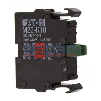 Element stykowy 1Z montowany do płyty czołowej, M22-K10, 216376