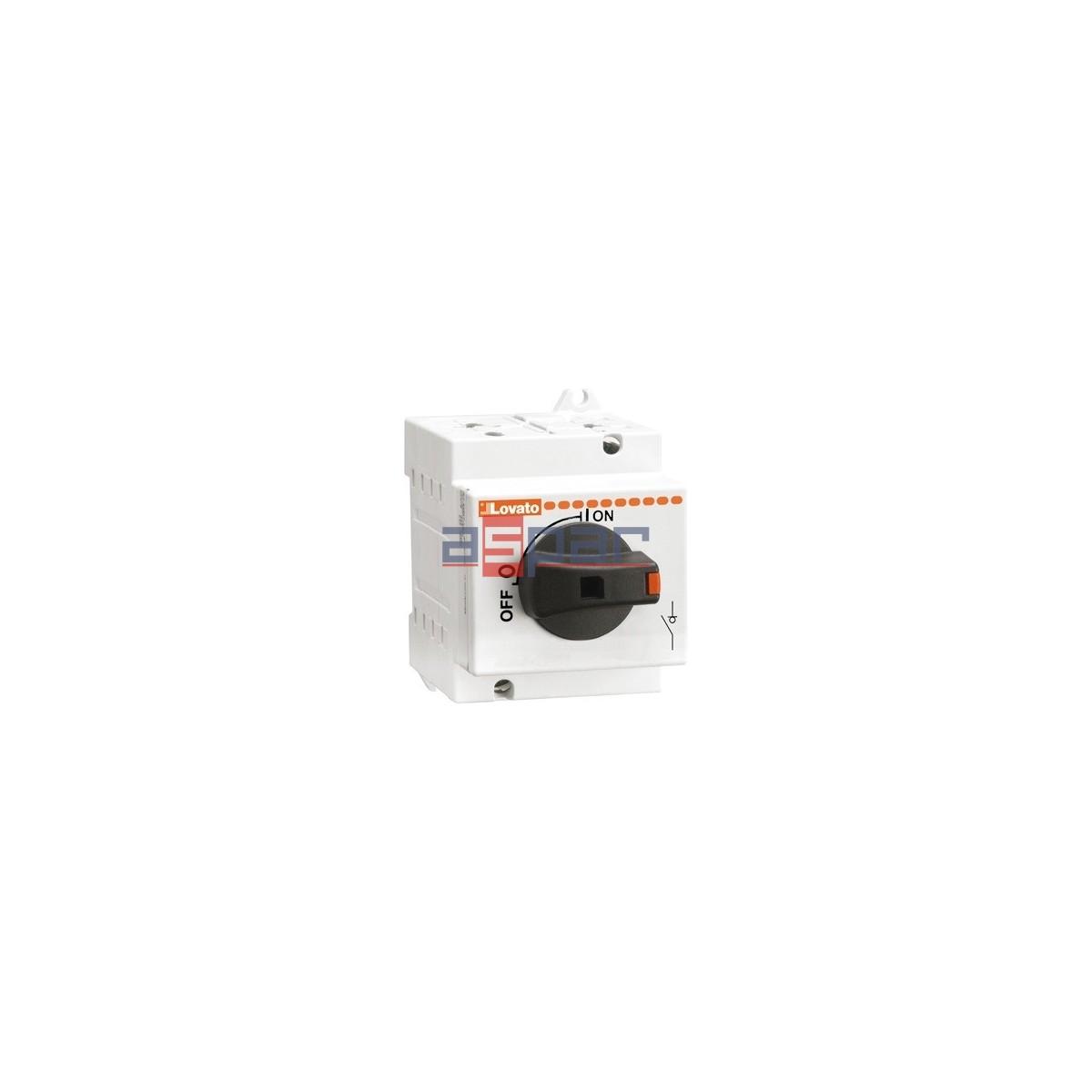 GD025AT2 - Rozłącznik izolacyjny do aplikacji PV, DC21B: 25A przy 600VDC, 16A przy 1000VDC