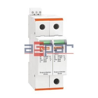 SA2DG600M2R - Ogranicznik przepięć do 600VDC (+, -, PE), Iscpv-100A, typ 2, wyjście przekaźnikowe
