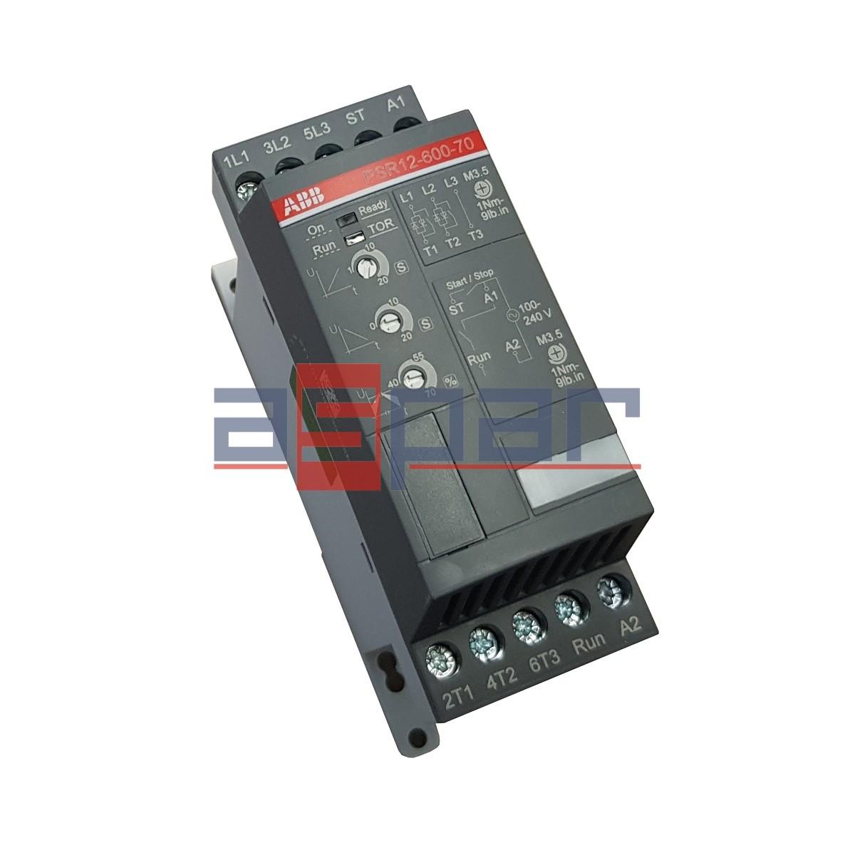 Softstart 5,5kW, PSR12-600-70