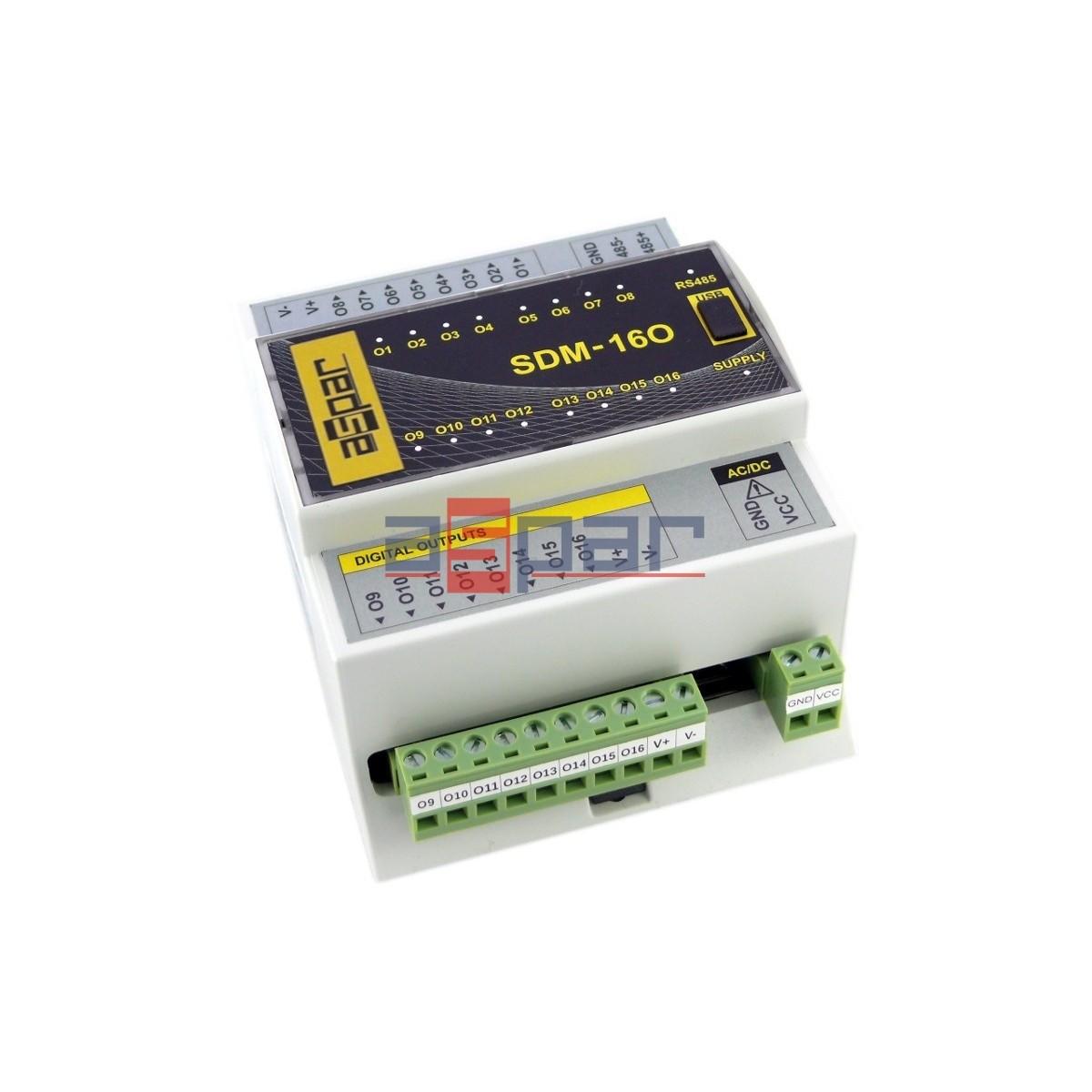 SDM-16O-PNP - 16 wyj. cyfrowych
