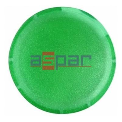 Soczewka przycisku, płaska, zielona, M22-XDL-G, 216443
